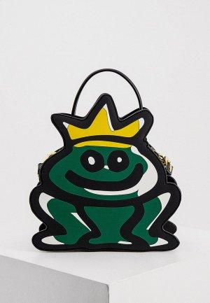 Рюкзак Braccialini. Цвет: зеленый