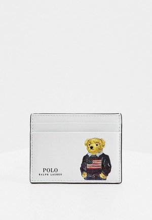 Визитница Polo Ralph Lauren. Цвет: белый