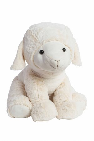 Мягкая игрушка Овечка 60 см MOLLI. Цвет: бежевый