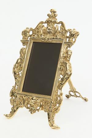 Рамка для фотографий Stilars. Цвет: золотой
