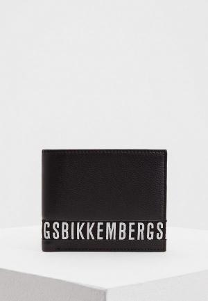 Портмоне Bikkembergs. Цвет: черный