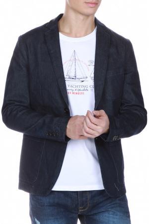 Пиджак FREESOUL. Цвет: синий