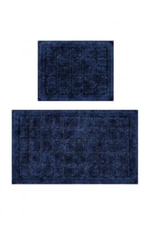 Bathmat set, 2 pieces BEVERLY HILLS POLO CLUB. Цвет: blue