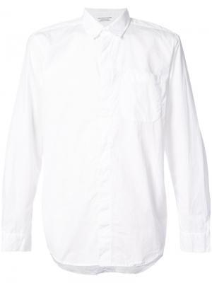 Классическая рубашка Engineered Garments. Цвет: белый