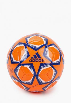 Мяч футбольный adidas. Цвет: оранжевый