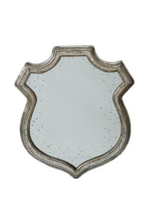 Зеркало 33x2x39 см ГЛАСАР. Цвет: серебряный