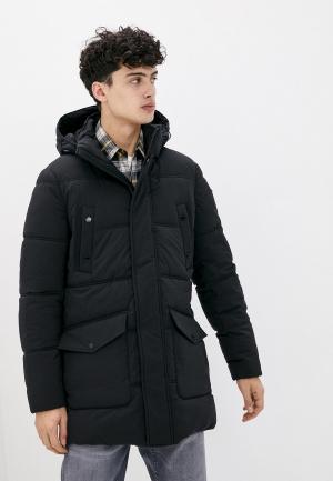 Куртка утепленная Geox. Цвет: черный