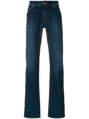 Классические расклешенные джинсы Jacob Cohen. Цвет: синий