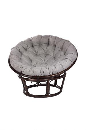 Кресло для отдыха с подушкой MEBEL IMPEX. Цвет: темно-коричневый