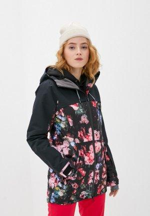 Куртка сноубордическая Roxy. Цвет: черный