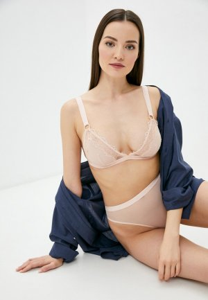 Бюстгальтер Stella McCartney Underwear. Цвет: розовый