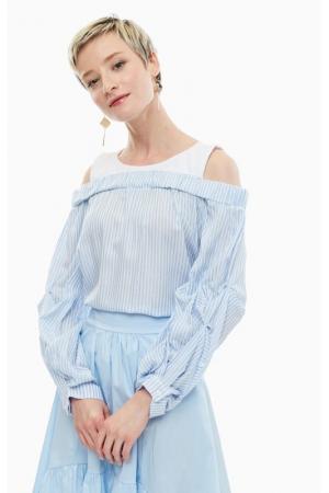 Блуза KOCCA. Цвет: полоска