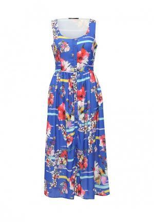 Платье Tom Farr. Цвет: синий