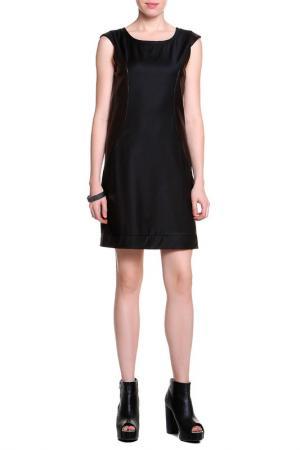 Платье HOTEL PARTICULIER. Цвет: черный