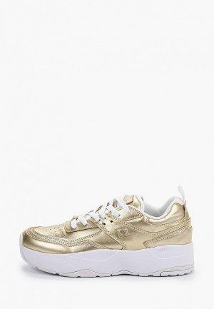 Кроссовки DC Shoes. Цвет: золотой