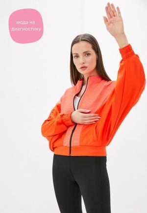 Олимпийка adidas. Цвет: оранжевый