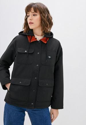 Куртка утепленная Vans. Цвет: черный