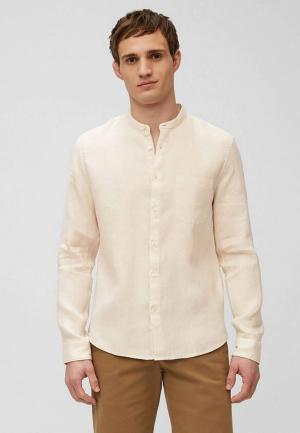 Рубашка Marc OPolo O'Polo. Цвет: бежевый