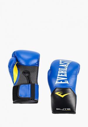 Перчатки боксерские Everlast. Цвет: синий