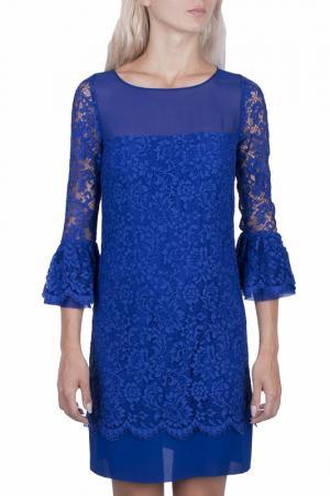 Платье DEXTERIOR D'EXTERIOR. Цвет: синий