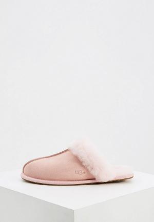 Тапочки UGG. Цвет: розовый