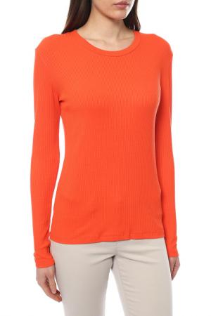 Футболка KAFFE. Цвет: оранжевый