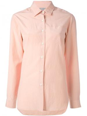 Рубашка на пуговицах Margaret Howell. Цвет: розовый и фиолетовый