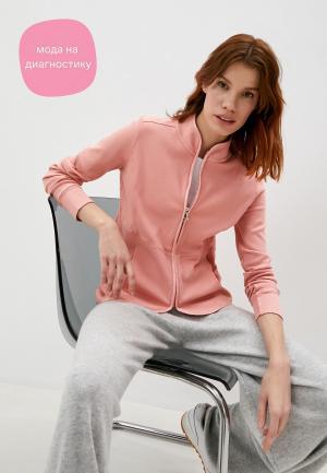 Олимпийка Deha. Цвет: розовый