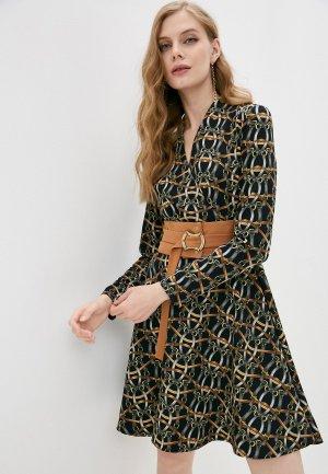 Платье Adzhedo. Цвет: разноцветный