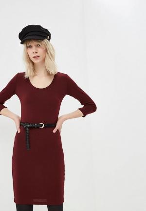 Платье Alcott. Цвет: бордовый