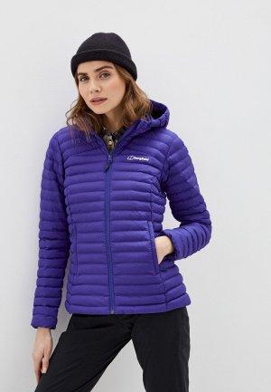Куртка утепленная Berghaus. Цвет: фиолетовый