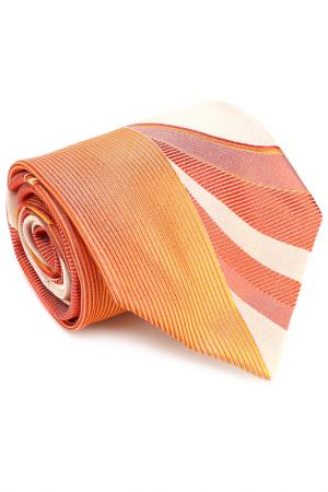 Галстук PELO. Цвет: красно-оранжевый