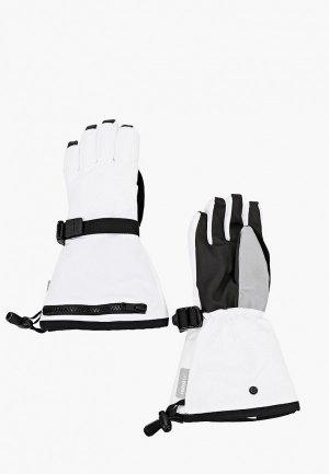 Перчатки Reima. Цвет: белый