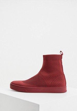 Слипоны Max&Co. Цвет: бордовый