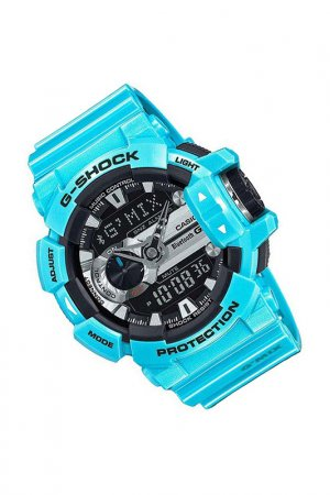 Наручные часы CASIO. Цвет: голубой