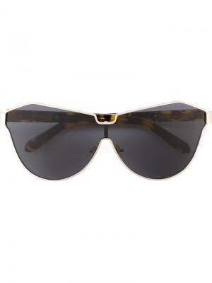 Солнцезащитные очки Cosmonaut Karen Walker Eyewear. Цвет: чёрный