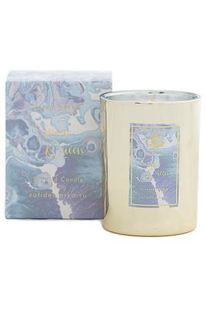 Ароматическая свеча Sofi De Marko. Цвет: серебряный