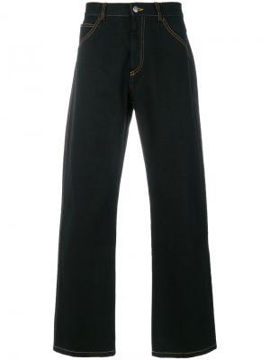 Классические широкие джинсы Gosha Rubchinskiy. Цвет: чёрный