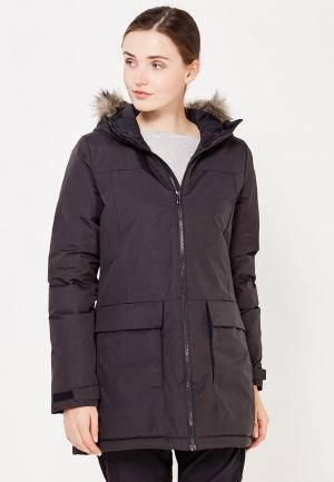 Куртка утепленная adidas. Цвет: черный