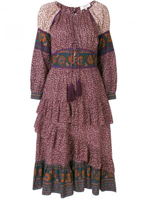 Платье-корсет Sea. Цвет: коричневый