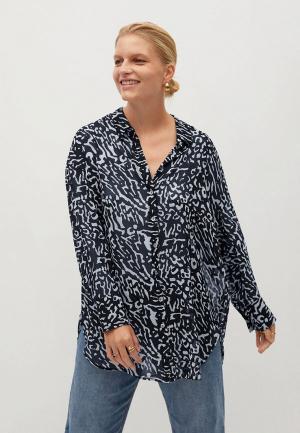 Блуза Violeta by Mango. Цвет: черный
