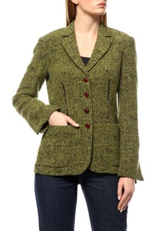 Пиджак MARIELLA BURANI. Цвет: зеленый