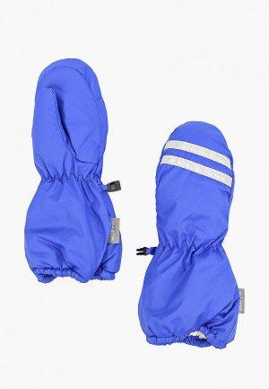 Варежки Huppa. Цвет: синий