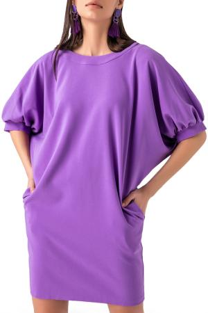 DRESS LAMARTHE. Цвет: purple