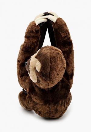 Рюкзак Котофей. Цвет: коричневый