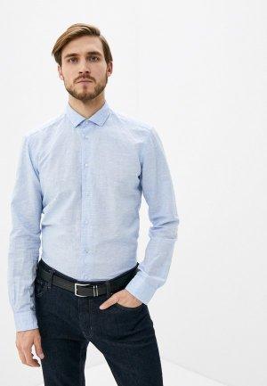 Рубашка Brian Dales. Цвет: голубой