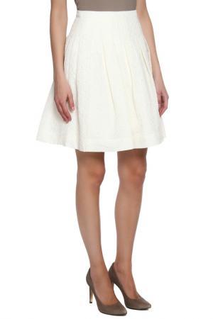 Юбка Christian Dior. Цвет: белый