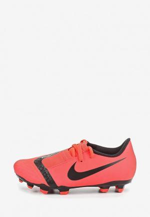 Бутсы Nike. Цвет: красный