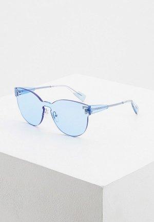 Очки солнцезащитные Furla. Цвет: голубой