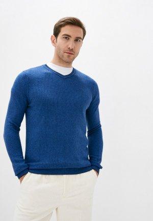 Пуловер Zolla. Цвет: синий